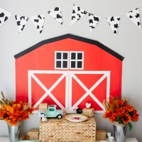 A Farm Theme First Birthday Party for Levi!
