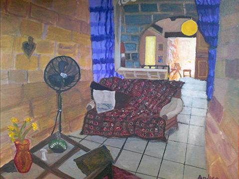 A room in Bormla