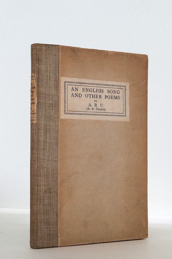 An English Song and Other Poems