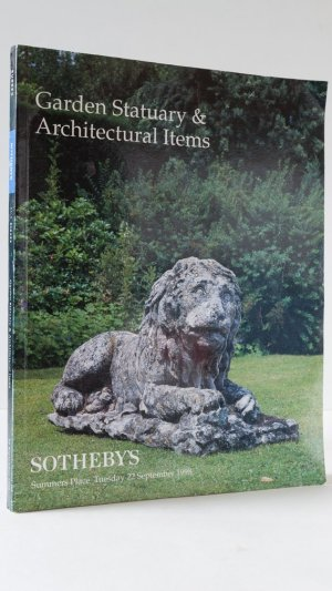 Garden Statuary and Architectural Items