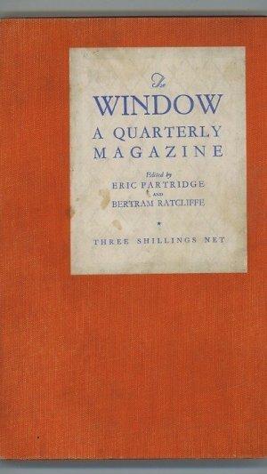 The Window: A Quarterly Magazine Vol. 1 No. 4