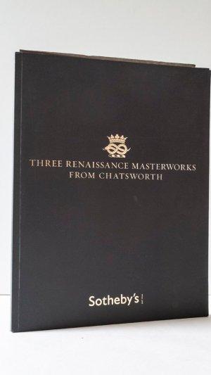 Three Renaissance Masterworks From Chatsworth Lots 50-52