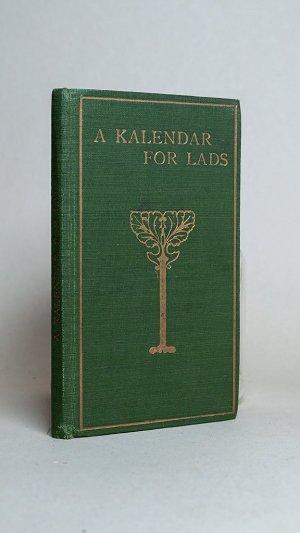 A Kalendar for Lads