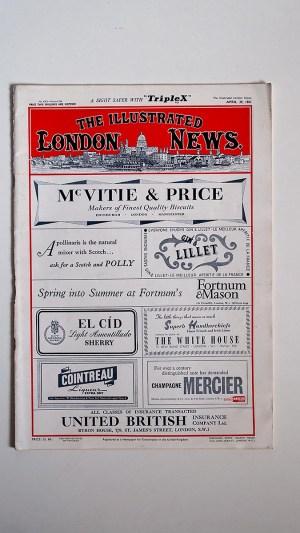 The Illustrated London News No 6352 Volume 238 April 29 1961