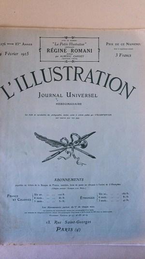 L'Illustration No 4276 14 Février 1925