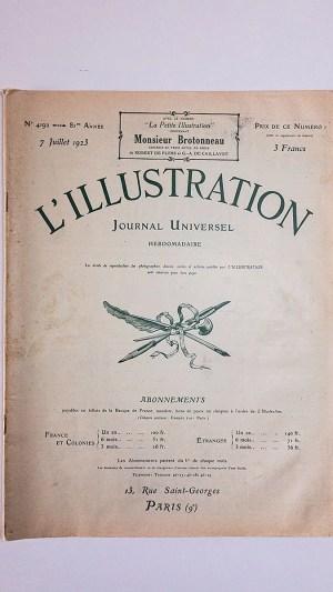 L'Illustration No 4192 7 Juillet 1923
