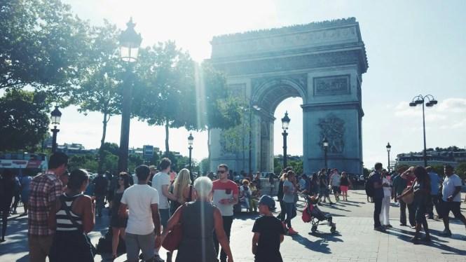 Arc de Triomphe Parigi