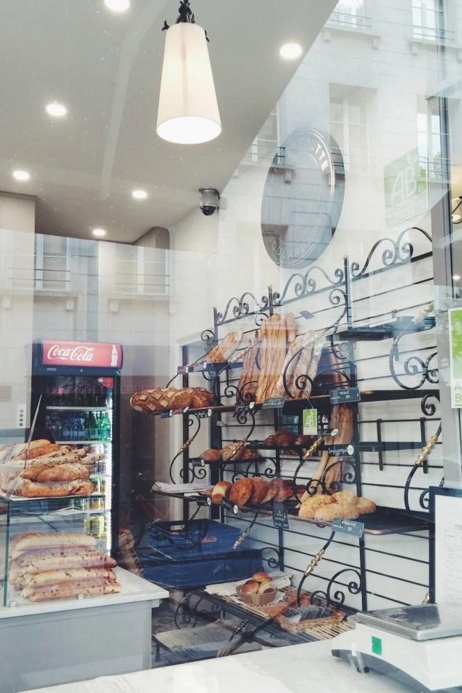 Boulangerie a parigi