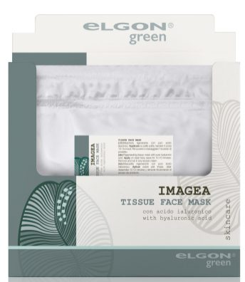 Elgon Green Imagea Tissue Face Mask