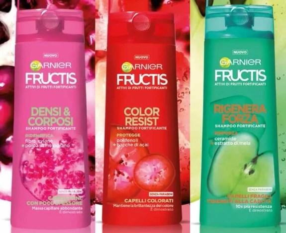 Garnier Fructis Capelli Problematici