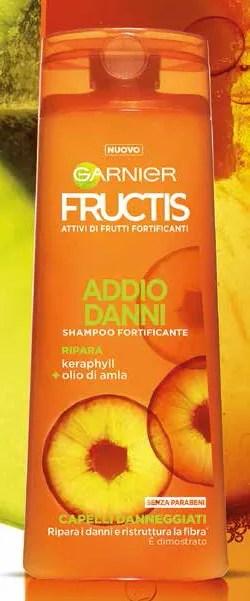 Shampoo Garnier Fructis Addio Danni