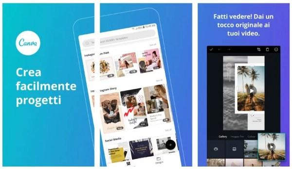 Canva app store