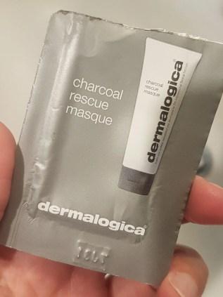 confezione dermalogica charcoal rescue mask