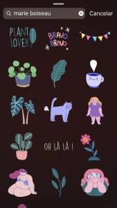 GIF Instagram marie boiseau