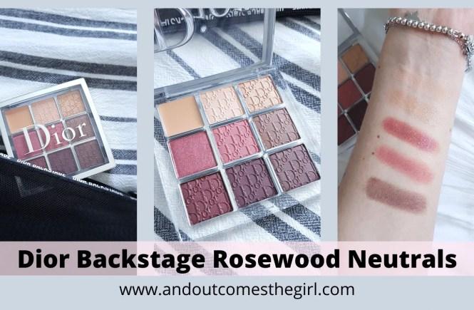 dior rosewood neutrals palette