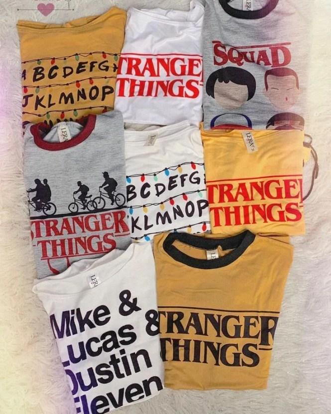 stranger things magliette