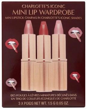 charlotte tilbury Iconic Mini Lipstick Wardrobe