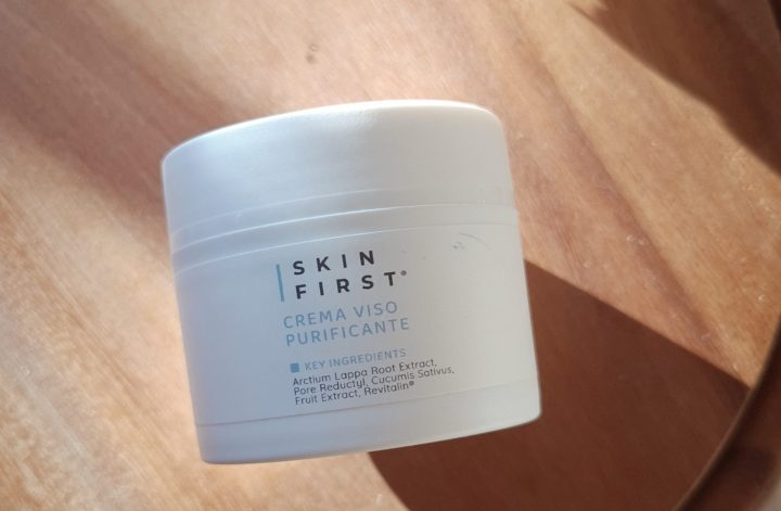 crema viso purificante skinfirst review