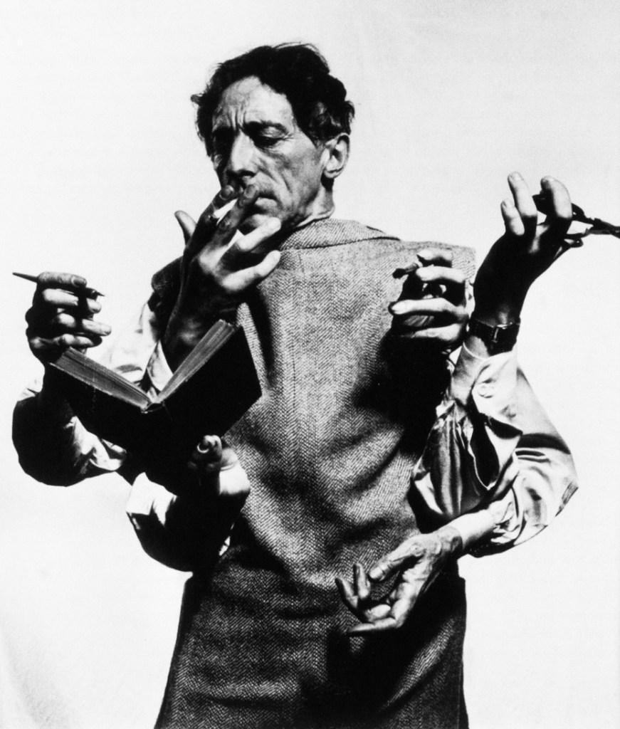 Jean Cocteau, 1948 - Photo by Philippe Halsman