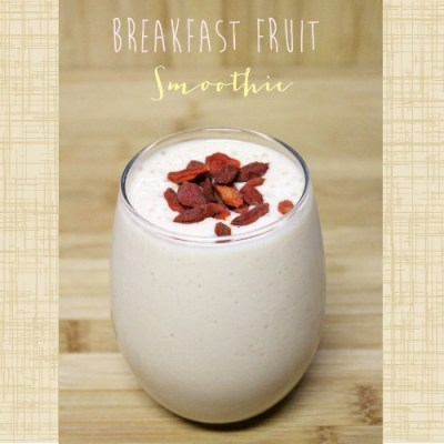 Super Easy Breakfast Smoothie