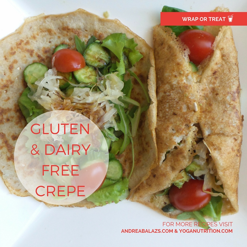 Dairy and Gluten free Crepe