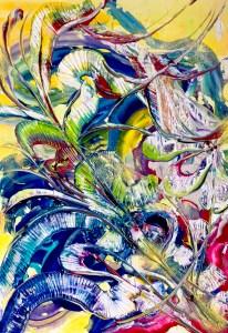 Andrea Bellocchio immagine a colori gialli floreali