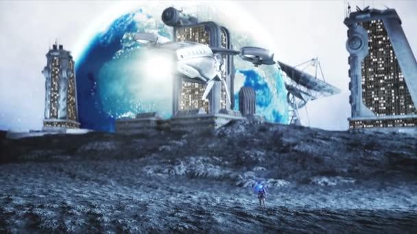 luna lupi fantascienza terra 2486 anima sintetica andrea bindella valentina vita