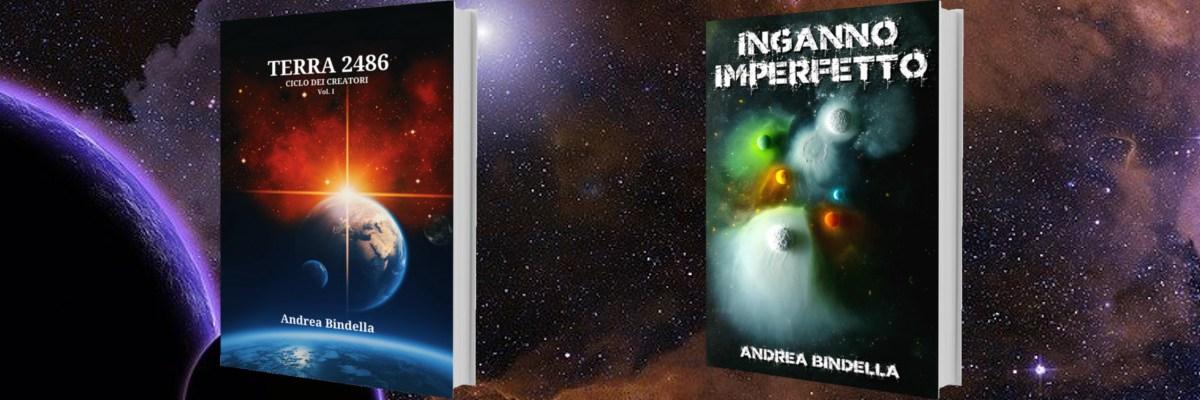 terra 2486 inganno imperfetto fantascienza cyberpunk cyborg space marine covid andrea bindella autore