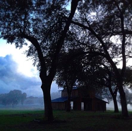 Fog at the Farmhouse