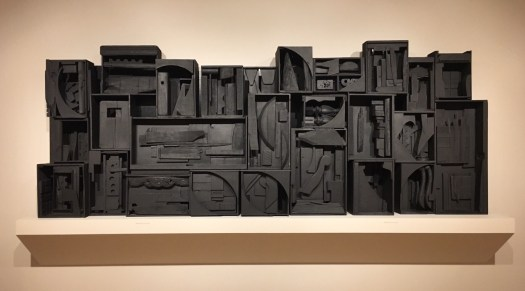 Sky Cathedral by Louise Nevelson — found wood sculpture at the San José Museum of Art.