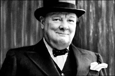 Ritratto di Churchill