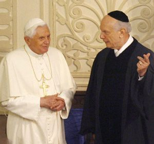 Rabbi Ratzinger: due menzogne in due paragrafi
