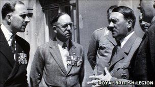 Luglio 1935: quando la British Legion si incontrò con Hitler