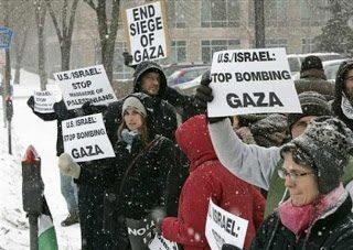 Jo Ann Wescott: la protesta globale per la Palestina