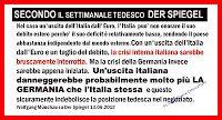 La Germania alla conquista dell'Italia: i corsi e i ricorsi…