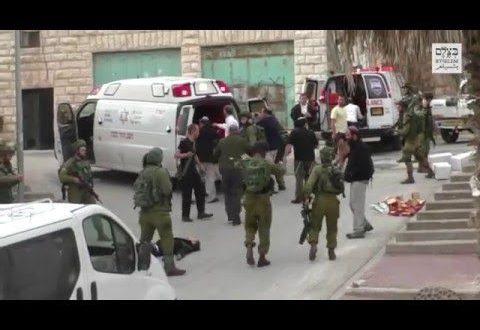 Esecuzione israeliana catturata dalla cinepresa