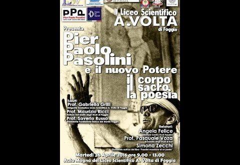 Pier Paolo Pasolini IL CORPO IL SACRO LA POESIA  Simona Zecchi Giornalista