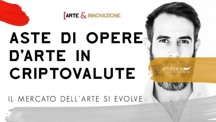 AI 10 ASTE DI OPERE D'ARTE IN CRIPTOVALUTE / Il mercato dell'arte si evolve / Arte&Innovazione
