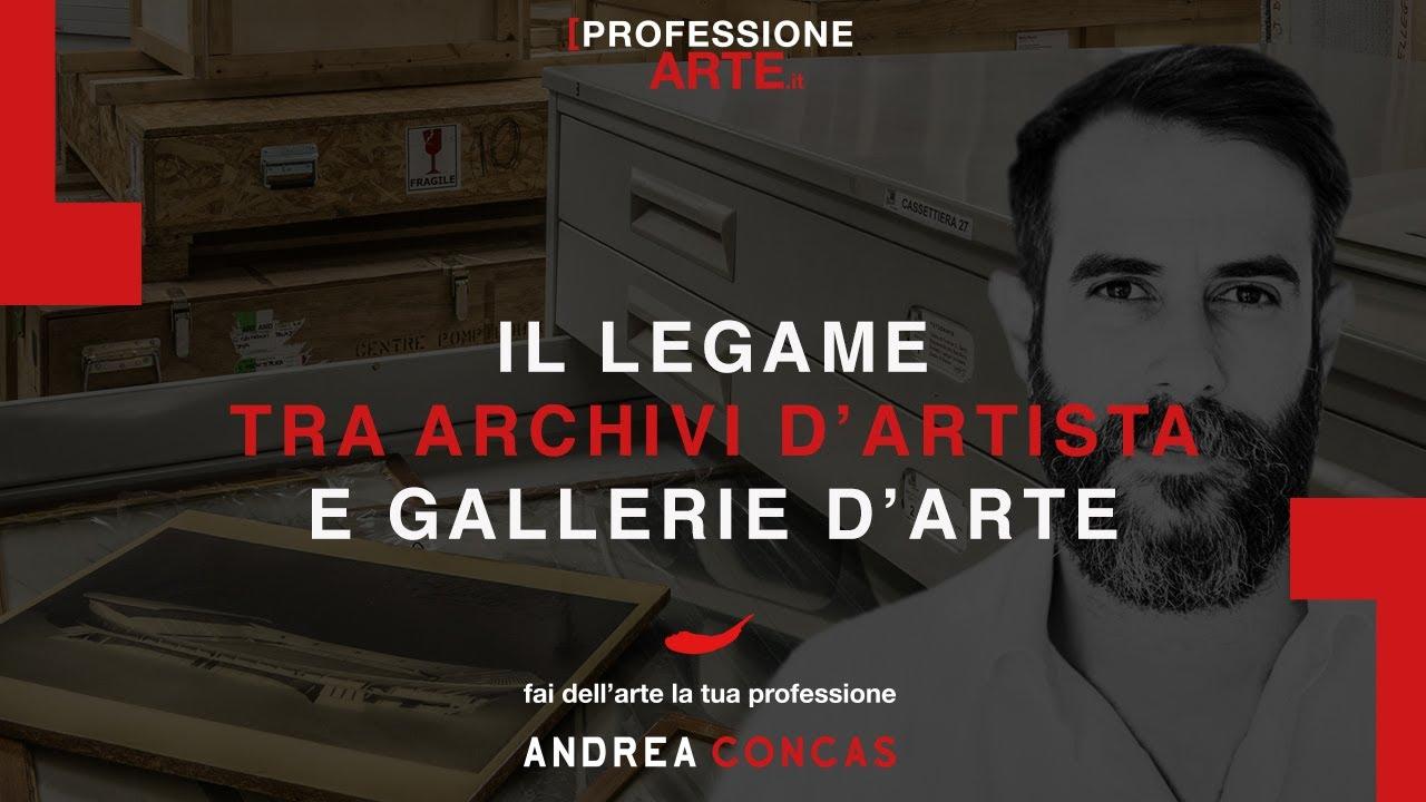 Il legame tra artisti e gallerie d'arte professione arte