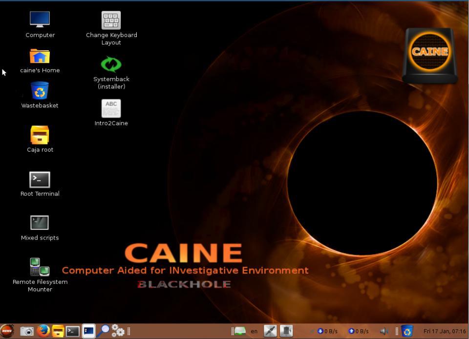 Caine 5 BlackHole
