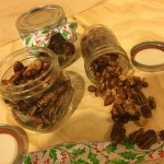 DIY Candied Sweet/Spicy Nuts & Maca Bark