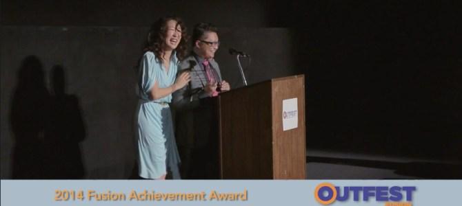 Alec Mapa, Outfest Fusion Achievement Award 2014 Honoree