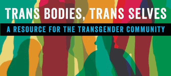 NPR: Trans Bodies, Trans Selves': A Modern Manual By And For Trans People