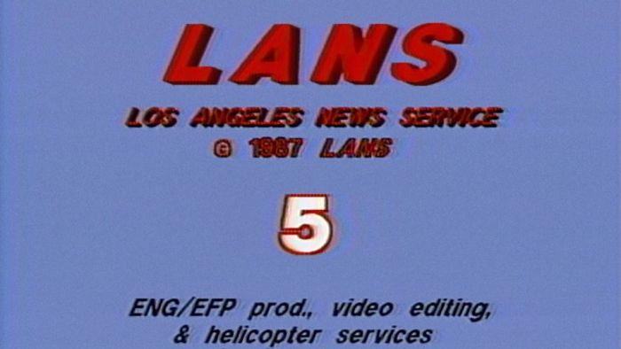 Los Angeles News Service leader 1987