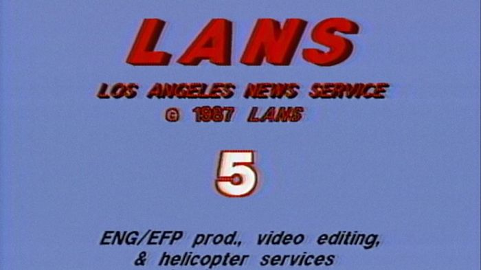 Los Angeles News Service leader 1987