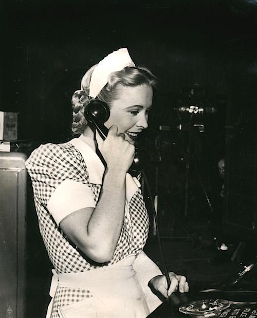 "Andrea King as Sally Otis in ""The Man I Love."" Warner Bros., 1947."