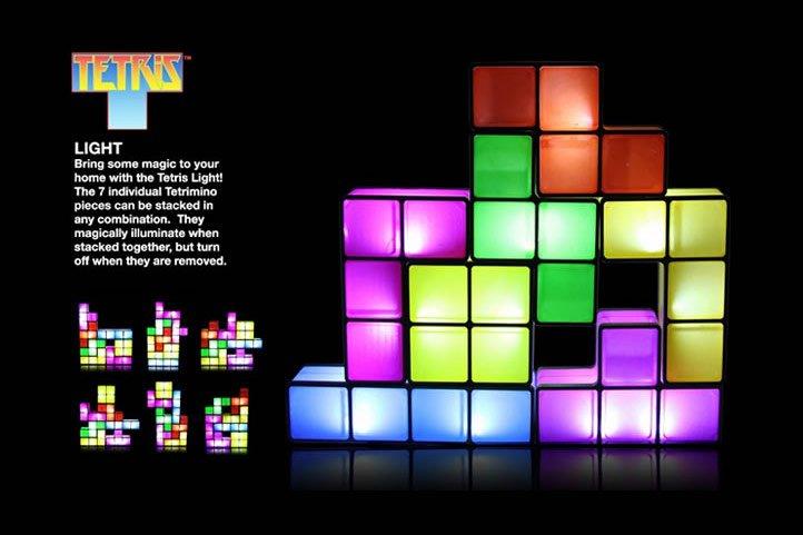 Lampada Tetris Demo