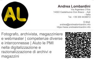 Andrea Lombardini vCard