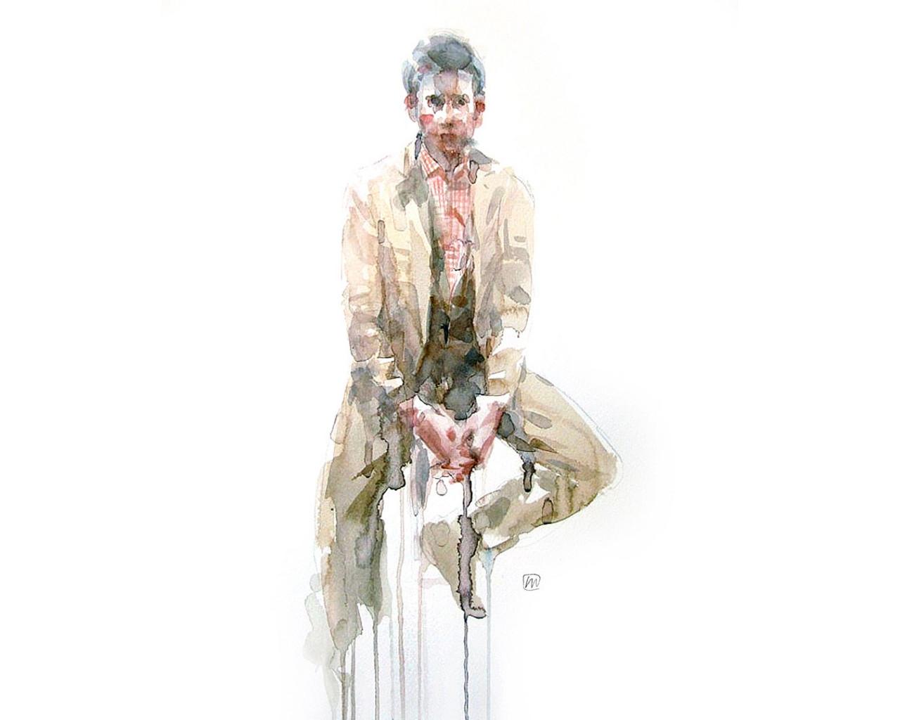 Andrea Mancini fashion illustration 8