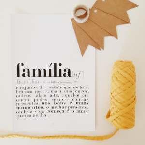 print | família . family